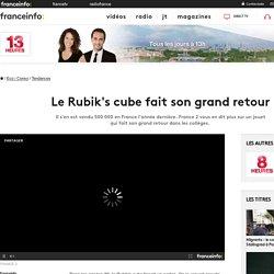 Le Rubik's cube fait son grand retour