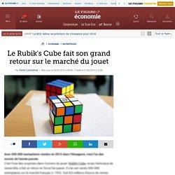 Le Rubik's Cube fait son grand retour sur le marché du jouet