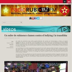Un miler de rubinencs clamen contra el bullying i la transfòbia
