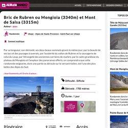Bric de Rubren ou Mongioia (3340m) et Mont de Salsa (3315m)