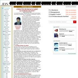 Rubrique juridique : Création d'un site web par un salarié : qui est titulaire des droits?
