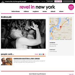 Rubulad - Brooklyn Warehouse Art Parties | Revel in New York