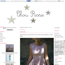 Ruby dress - Chou Rose
