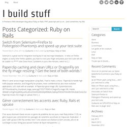 Ruby on Rails - Blogueur - Guillaure Barillot