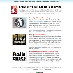 Ruby on Rails: Screencasts