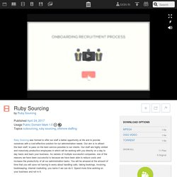 Ruby Sourcing : Ruby Sourcing