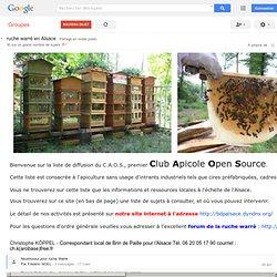 (88) ruche warré en Alsace