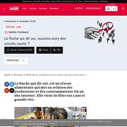 FRANCE INTER 06/11/16 SOCIAL LAB - La Ruche qui dit oui, success-story des circuits courts ?