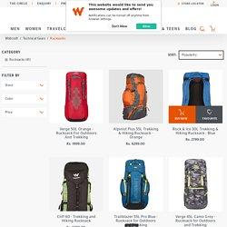 Rucksack Bags for Travel, Hiking & Trekking Online