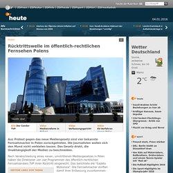 Polen: Rücktrittswelle im öffentlich-rechtlichen Fernsehen Polens