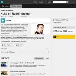 Rudolf Steinerin opit