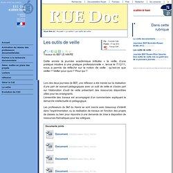 RUE Doc - Les outils de veille