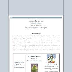 Rue des Instits, tapuscrit et exploitation CP