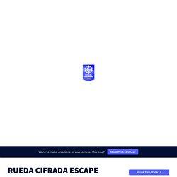 RUEDA CIFRADA ESCAPE