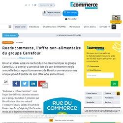 Rueducommerce, l'offre non-alimentaire du groupe Carrefour