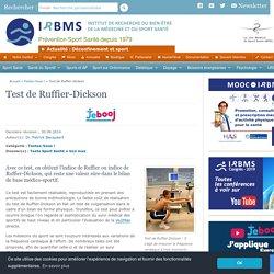 Test de Ruffier-Dickson