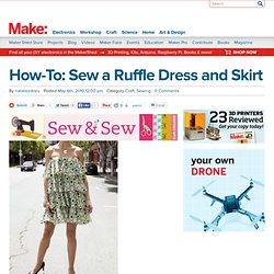 Sew a Ruffle Dress and Skirt
