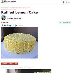 Ruffled Lemon Cake