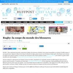 Rugby: la coupe du monde des blessures