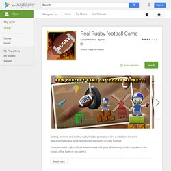 Real Rugby football Game - Android Apps on Google Play