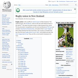 Rugby union in New Zealand - Wikipedia