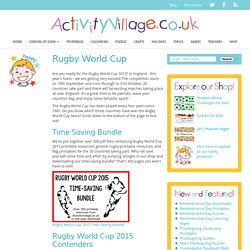 Rugby World Cup For Kids