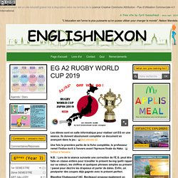 Rugby world cup Japan escape game