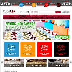 Discount Area Rugs, Modern Rugs and More from Top Brands