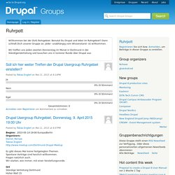 Ruhrpott | groups.drupal.org