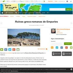 Ruinas greco-romanas de Empuries