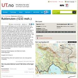 Ruklenuten (1233 moh.) - Tur