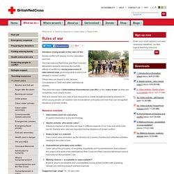 Red Cross: Rules of war
