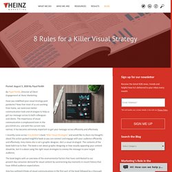 8 Rules for a Killer Visual Strategy