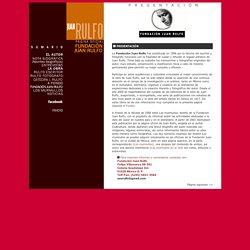 Juan Rulfo - Pagina oficial - Fundacion Juan Rulfo