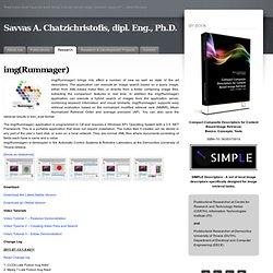 img(Rummager) « Savvas A. Chatzichristofis, dipl. Eng., Ph.D.