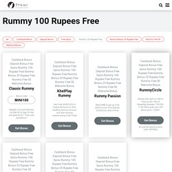 Rummy 100 Rupees Free Online