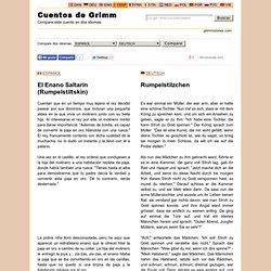 Compare: El Enano Saltarín (Rumpelstiltskin) (ESPAÑOL) - Rumpelstilzchen (DEUTSCH)