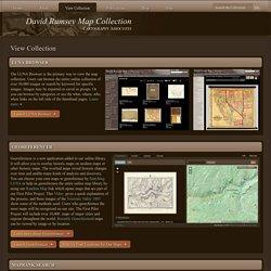 Cartes historiques numérisées