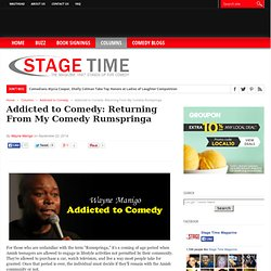 Addicted to Comedy: Returning From My Comedy Rumspringa
