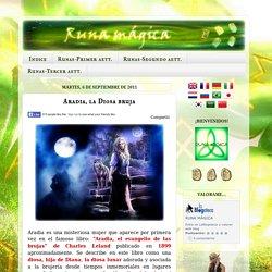 Runa mágica: Aradia, la Diosa bruja