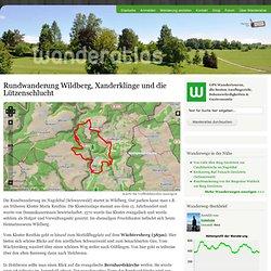 Rundwanderung Wildberg, Xanderklinge und die Lützenschlucht