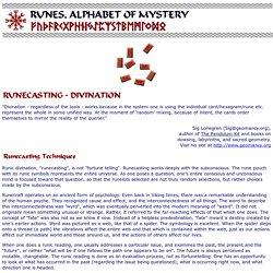 Runecasting - Runic Divination