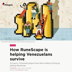 How RuneScape is helping Venezuelans survive