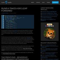 RuneUI takes a big leap forward - RuneAudio