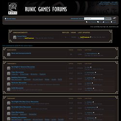 Runic Games • Index page