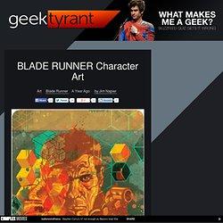 BLADE RUNNER CharacterArt