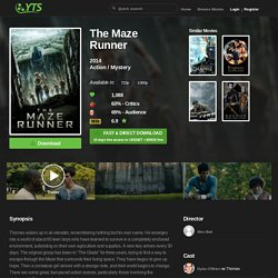 The Maze Runner (2014) Download YIFY movie torrent - YTS