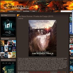Ver Maze Runner: Prueba de Fuego (2015) online