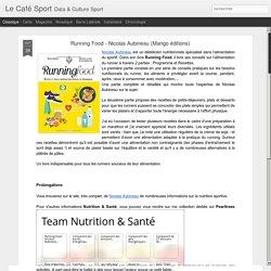 Running Food - Nicolas Aubineau (Mango éditions)
