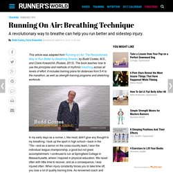 Running On Air: Breathing Technique